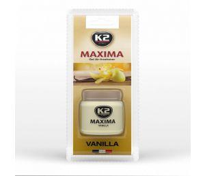 MAXIMA VANILLA 50ML ekskluzywny zapach w żelu do auta i domu - 50ml
