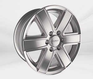 "Felgi Aluminiowe 16"" ALCAR 6X139.7 DEZENT TJ"