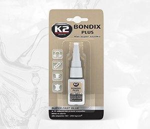 BONDIX PLUS 10G klej 15 sekundowy do plastiku, drewna, gumy - 10g