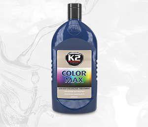 COLOR MAX 500 GRANATOWY wosk koloryzujący nabłyszcza i chroni - 500ml