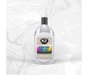 COLOR MAX 500 SREBNY wosk koloryzujący nabłyszcza i chroni - 500ml