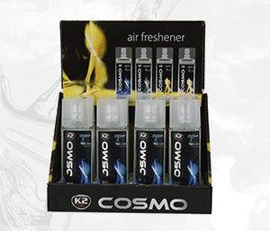 COSMO OCEAN 50ML zapach samochodowy w atomizerze/ display - 50ml