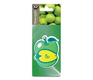 DUOPACK FRUTTI APPLE zapach papierowy zawieszka owoce -