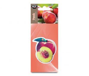 DUOPACK FRUTTI BRZOSKWINIA zapach papierowy zawieszka owoce -