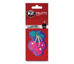 DUOPACK FRUTTI  WIŚNIA  zapach papierowy zawieszka owoce -