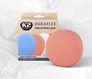 DURAFLEX - pomarańczowa gąbka polerska M14 gąbka średniościerna, twarda - szt