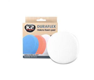 DURAFLEX - biała gąbka polerska na rzep gąbka lekkościerna, średnio twarda - szt