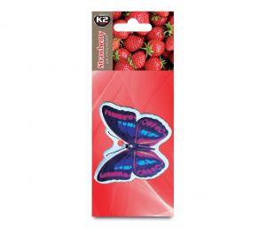 FRESH WIND TRUSKAWKA  zapach papierowy zawieszka motyle -