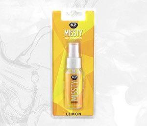 MISSTY LEMON SPRAY odświeżacz powietrza na bazie perfum z wygodnym atomizerem - 30ml