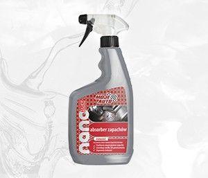 MOJE AUTO - Absorber zapachów Nanosilver 650ml - Atomizer