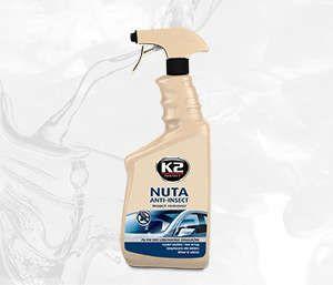 NUTA ANTI-INSECT 770 ATOM skutecznie usuwa owady z szyb,karoserii - 770ml