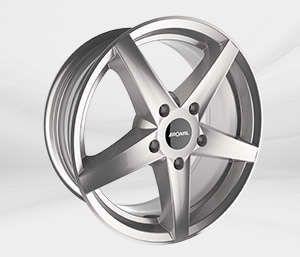 """Felgi Aluminiowe 16"""" RONAL 5X114.3 R41 – SREBRNY"""
