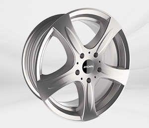 """Felgi Aluminiowe 18"""" RONAL 5X139 R43 - SREBRNY"""