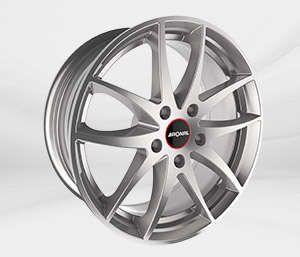 """Felgi Aluminiowe 17"""" RONAL 5X114.3 R46 - SREBRNY"""