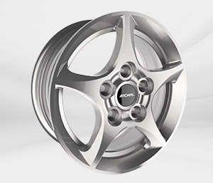 """Felgi Aluminiowe 17"""" RONAL 5X114.3 R53 – SREBRNY"""
