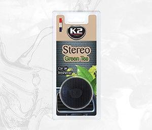 STEREO GREEN TEA  zapach do kratki z nasączoną włókniną -
