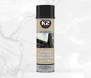 Środek ochronny karoserii spray 500ml czarny baranek,  może być lakierowany