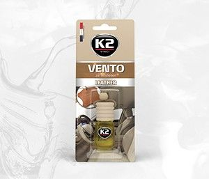VENTO LEATHER 8ml blister plastikowy Ekskluzywny zapach samochodowy - 8ML