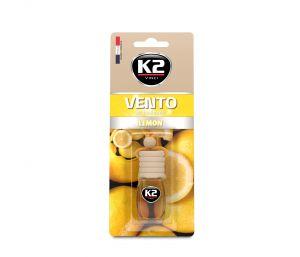 VENTO LEMON 8ml blister plastikowy Ekskluzywny zapach samochodowy - 8ML