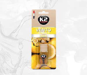 VENTO LEMON 8ml blister papierowy Ekskluzywny zapach samochodowy - 8ML