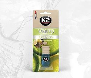 VENTO SPICY CITRUS 8ml blister plastikowy Ekskluzywny zapach samochodowy - 8ML