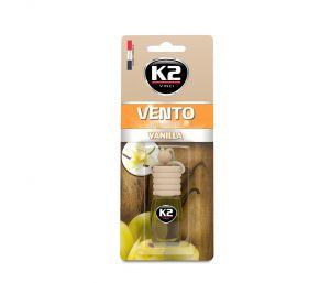 VENTO VANILIA 8ml blister papierowy Ekskluzywny zapach samochodowy - 8ML