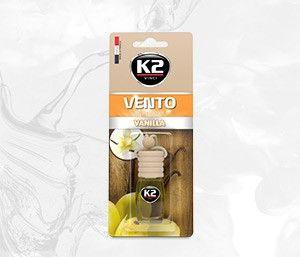 VENTO VANILIA 8ml blister plastikowy Ekskluzywny zapach samochodowy - 8ML