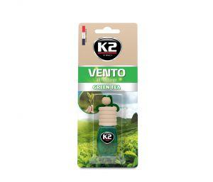 VENTO Z.HERBATA 8ml blister plastikowy Ekskluzywny zapach samochodowy - 8ML