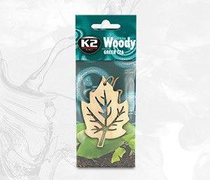 WOODY LIŚĆ GREEN TEA  nasączany zapach drewniany - 8,5g