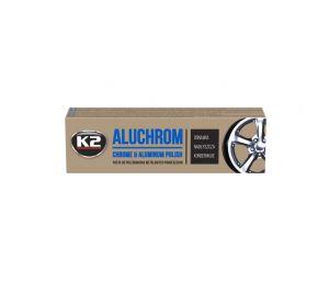 ALUCHROM 120  skuteczna pasta do chromu i metali kolorowych - 120g