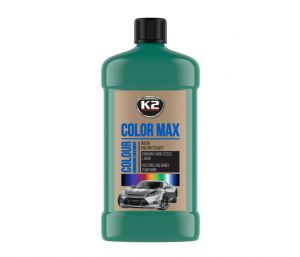 COLOR MAX 500 C.ZIELONY wosk koloryzujący nabłyszcza i chroni - 500ml