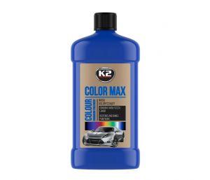 COLOR MAX 500 NIEBIESKI wosk koloryzujący nabłyszcza i chroni - 500ml