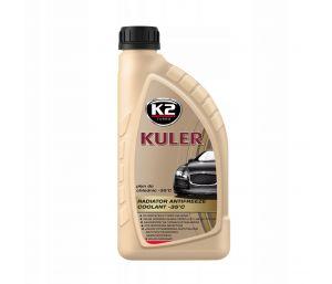 KULER -35C 1L CZERWONY płyn do chłodnic, 5lat - 150tys. Km - 1L