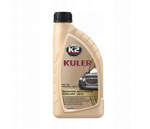 KULER -35C 1L NIEBIESKI płyn do chłodnic, 5lat - 150tys. Km - 1L