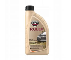 KULER -35C 1L POMARAŃCZOWY płyn do chłodnic, 5lat - 150tys. Km - 1L