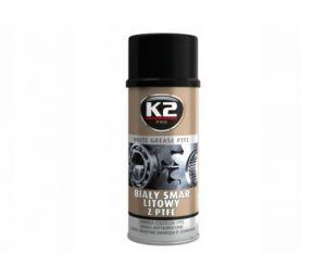 Smar biały litowy - spray  smaruje, izoluje, konserwuje, zakres stosowania od -200C do +14000C - 400ml