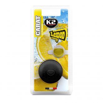 CARAT LEMON ENERGY+ ZAPAS membranowy zapach w kratkę - lemon energy + zapasowy wkład - 2x2,7ml