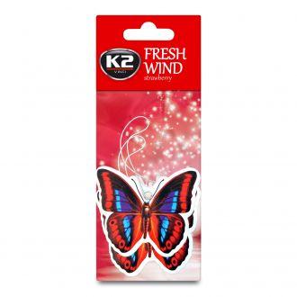 DUOPACK FRESH WIND TRUSKAWKA zapach papierowy zawieszka motyle -