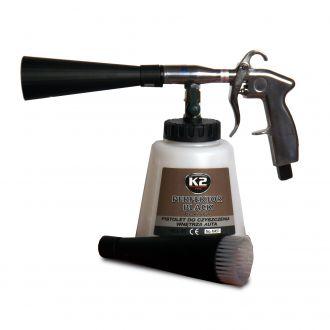 PERFEKTOR BLACK  pistolet do czyszczenia wnętrza auta, mechanizm oparty na łożysk - szt