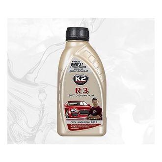 R3/DOT 3 0,5 płyn hamulcowy R3/DOT3 z certyfikatem - 500g