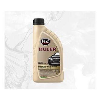 KULER -35C 1L ZIELONY płyn do chłodnic, 5lat - 150tys. Km - 1L