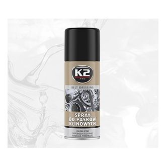 Spray do pasków klinowych  zapobiegania piskom i ślizganiu się pasków klinowych - 400ml