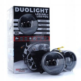Światła Dzienne LED DRL+Halogeny SUBARU DUOLIGHT