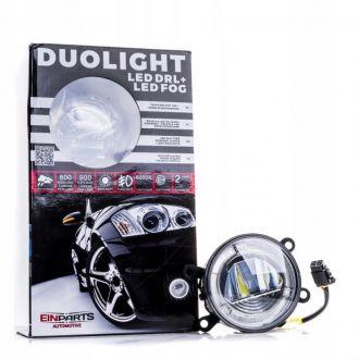 Światła Dzienne LED DRL+Halogeny CITROEN FIAT FORD