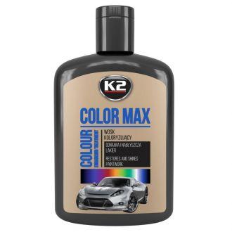 COLOR MAX 200 CZARNY wosk koloryzujący nabłyszcza i chroni - 200ml