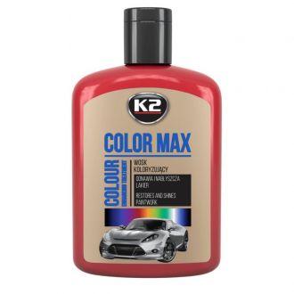 COLOR MAX 200 CZERWONY wosk koloryzujący nabłyszcza i chroni - 200ml