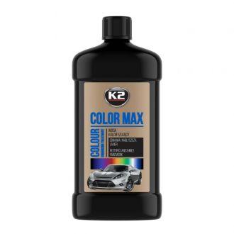 COLOR MAX 500 CZARNY wosk koloryzujący nabłyszcza i chroni - 500ml