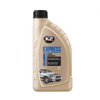 EXPRESS 1 lemon super wydajny wysokopienny szampon bez smug - 1L