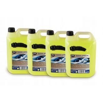 NANO SPRYSK Letni Cytrynowy płyn do spryskiwaczy 5L + Choinka zapachowa GRATIS!