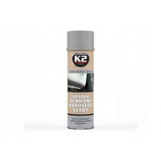 Środek ochronny karoserii spray 500ml szary baranek,  może być lakierowany
